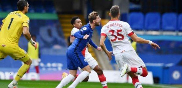 Chelsea -Southampton (3-3) : Malgré Werner, Chelsea se saborde (Vidéo)