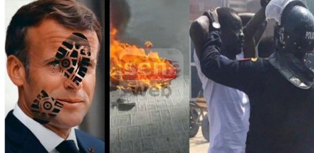 Karim Xrum Xaxx arrêté, pour avoir brûlé un symbole de la République française