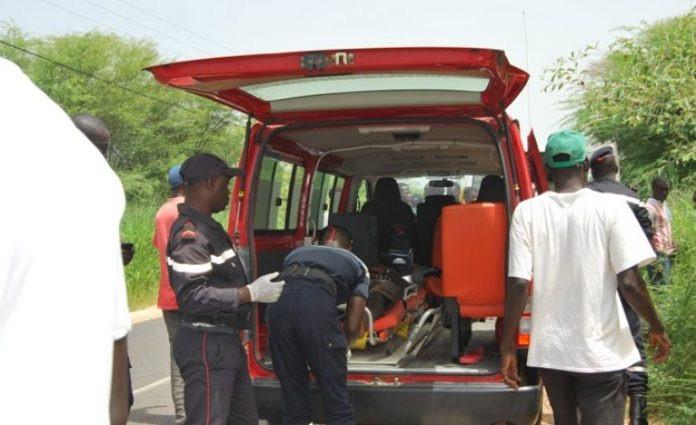 Kaolack : Un accident fait 05 morts et un blessé grave.