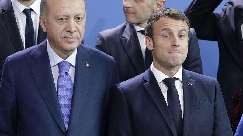Le président turc remet une nouvelle fois en question la santé mentale d'Emmanuel Macron