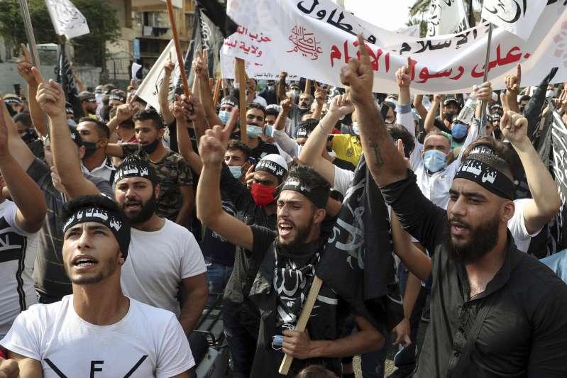 A Beyrouth : «Je suis ici par amour pour le prophète, je n'accepte pas qu'il soit ridiculisé»