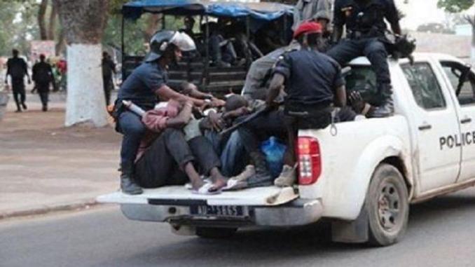 Retour  sur les affrontements entre policiers et mécaniciens à Lansar