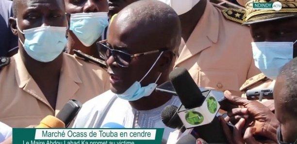 Incendie à Ocass : Le maire de Touba appelle à un désengorgement du marché