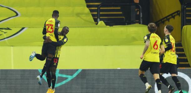 Championship : Ismaila Sarr offre la victoire à Watford en fin de match