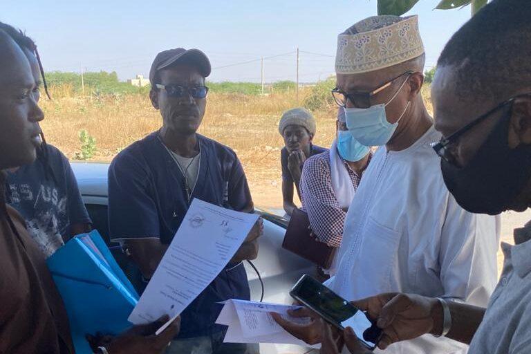 Abdoul Mbaye  à Kahone les raisons  d'une  visite