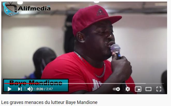 Vidéo: Les grandes menaces de Baye Mandione