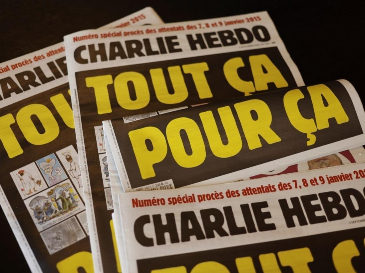 Turquie: quatre journalistes de Charlie Hebdo inculpés pour «insulte» à Erdogan