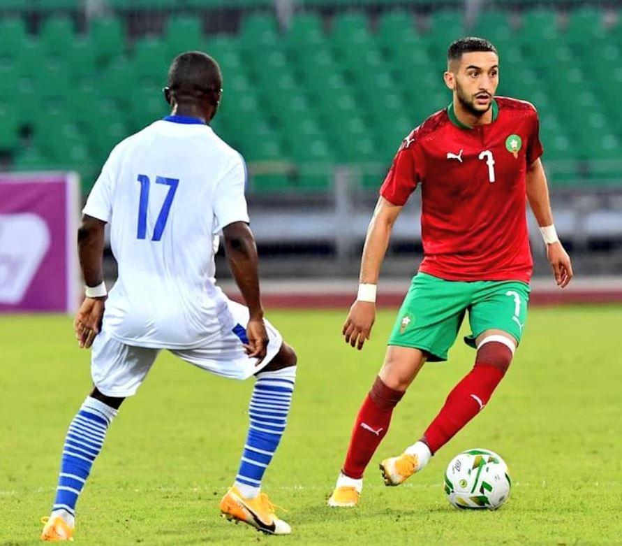 Eliminatoires CAN 2021: déjà qualifié, le Maroc se contente d'un match nul en Mauritanie, 0-0 (groupe E)