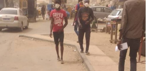Dégradation de la qualité de l'air à Dakar, ce mercredi