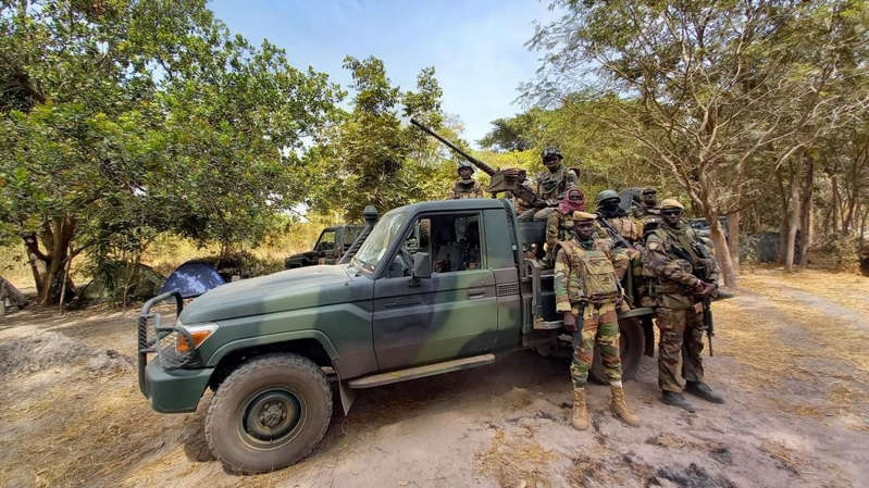 Sénégal: opération militaire contre des rebelles casamançais