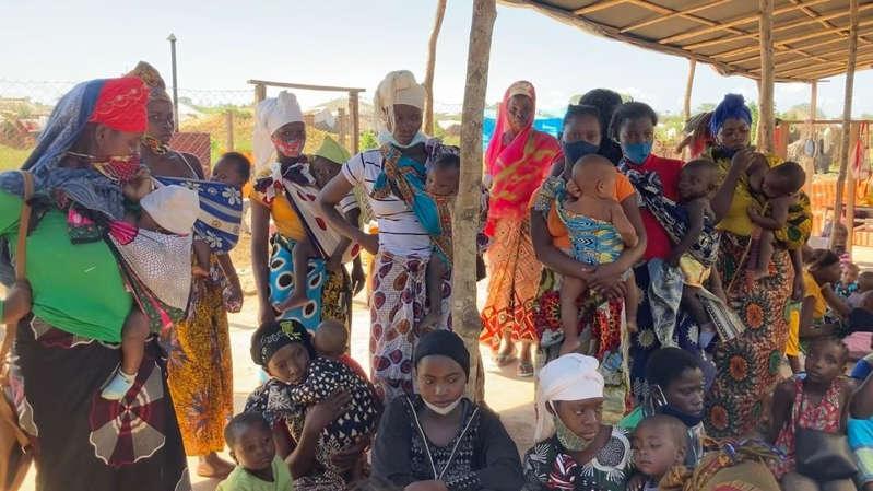 Mozambique: au Cabo Delgado, la délicate prise en charge des femmes et enfants déplacés