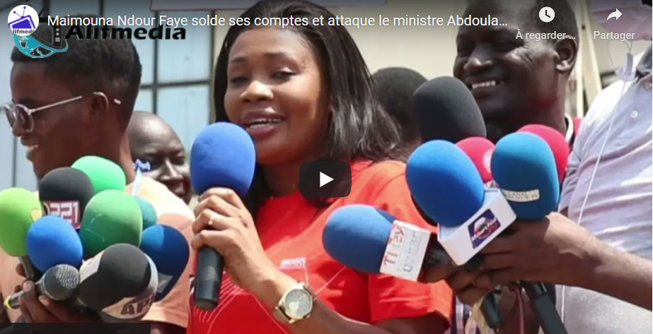 Maimouna Ndour Faye solde ses comptes et attaque le ministre Abdoulaye Diop