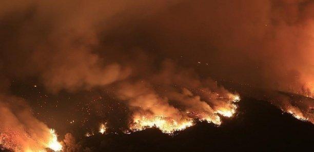 Incendie au marché central de Kaolack