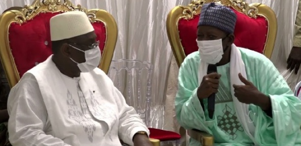 Kaolack : Au cœur des échanges entre Macky Sall et le Khalife de Médina Baye