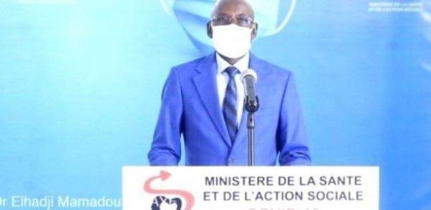 Covid-19: 2 décès, 61 nouveaux tests positifs et 5 patients en Réa