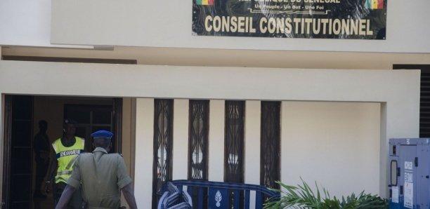 Conseil constitutionnel : Deux juges sur le départ, un décès à remplacer, le président quitte en 2022