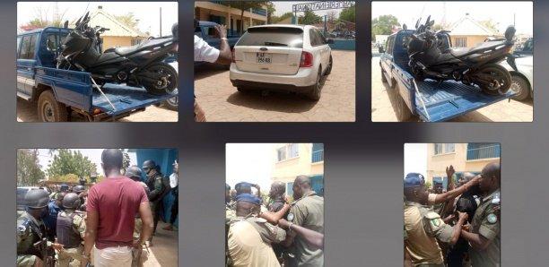 [Photos-Vidéo] Les images de l'arrestation de Boy Djiné