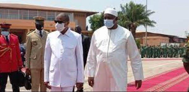 Adama Barrow en Guinée : «Je viens profiter de l'expérience politique du Président Condé»