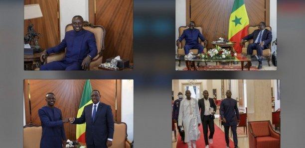 [Photos] Sadio Mané reçu par Macky Sall