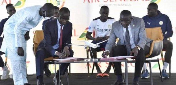 Air Sénégal et la FSF signent une convention