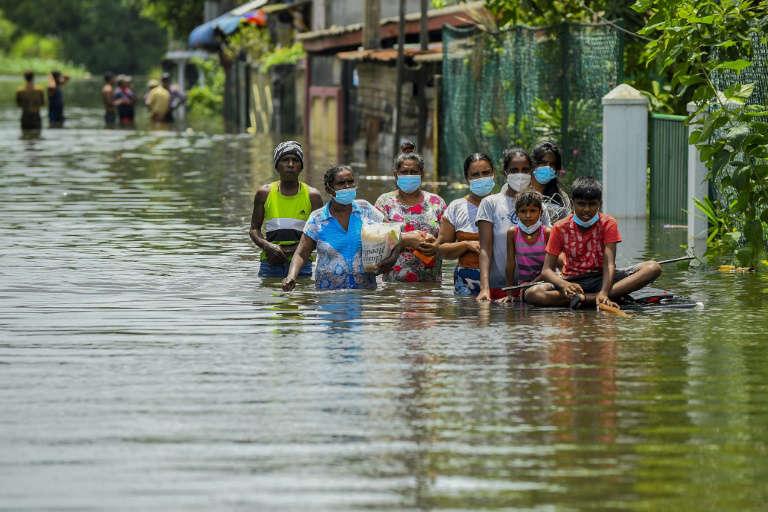 Inondations au Sri Lanka: au moins 17 morts et des milliers de sans-abri