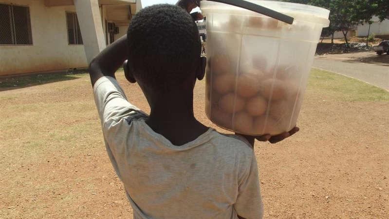 Travail des enfants: «Ils portent des sacs lourds dix heures par jour»