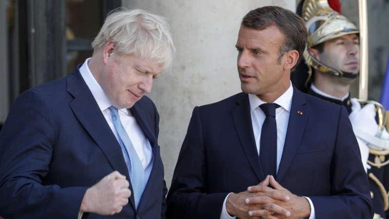 Brexit: Macron demande à Boris Johnson le respect de la «parole donnée» aux Européens