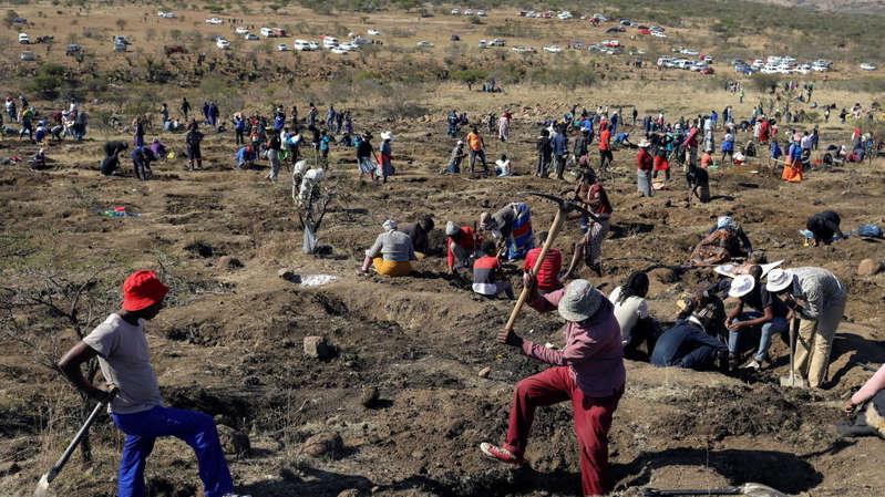 Afrique du Sud: ruée vers les «diamants» dans la région du KwaZulu-Natal