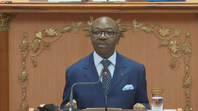 Bongo appelle à l'»unité» du Gabon dans son premier discours au Parlement depuis 5 ans