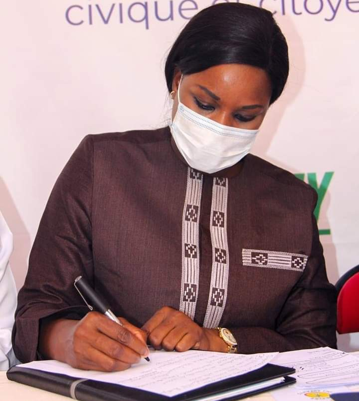 Marieme soda Ndiaye avocate des 500 impactés du Port de Bargny-Sendou