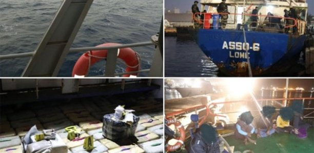 Drogue intercepté au large de Dakar : 8.370 kg de haschich saisis dans le navire «Asso-6»