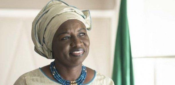 Mimi Touré effectue une visite privée à Touba