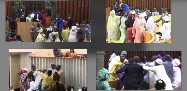 Bagarre, insultes, offenses… : Comment des députés ternissent l'image de l'Assemblée nationale