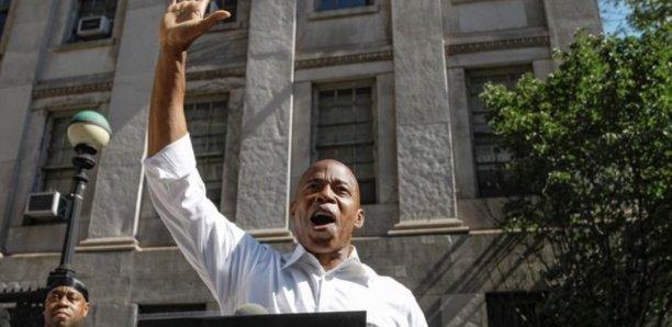 Eric Adams, ex-policier Afro-Américain, bien parti pour devenir maire de New York