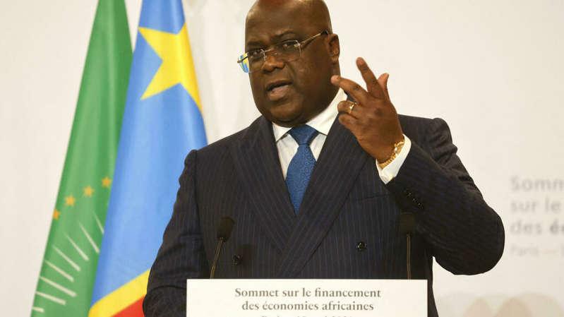 Covid-19 : en RD Congo, les propos anti-vaccin du président Félix Tshisekedi font polémique