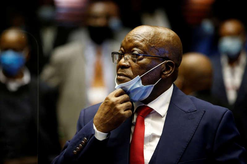 Afrique du Sud/ L'ancien président Jacob Zuma a dormi en prison