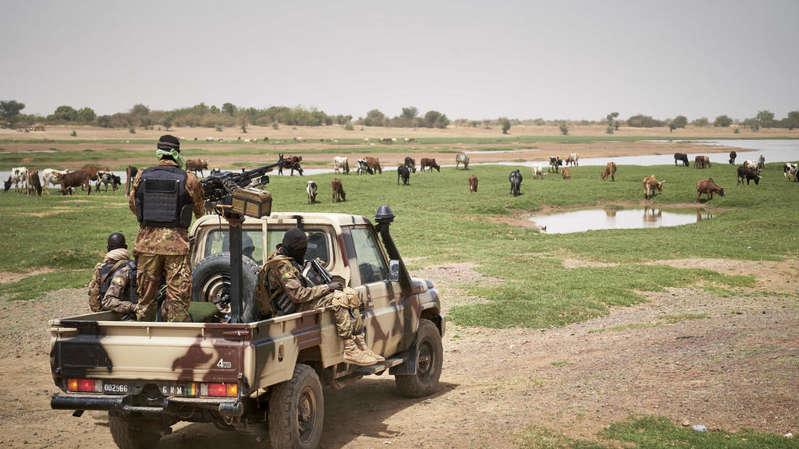 Au moins quatre soldats maliens tués près de la frontière mauritanienne