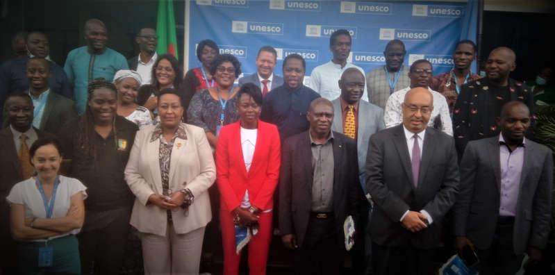 Cameroun: l'Unesco et les anciens Lions indomptables main dans la main