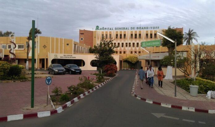 Hôpital de Grand Yoff : Les soins aux arrêts ce matin
